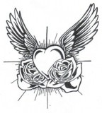 Heart Tattoo Las Vegas Tattoo Flash Images