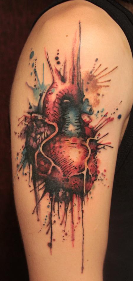Paradise Gathering Tattoos Gene Coffey Heart Tattoo