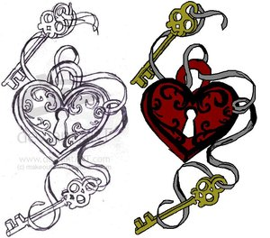 Cool Tattoos Design With Image Heart
