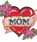 Special Heart Tattoos Design With Image For Mom