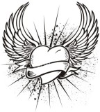 Mixentry Heart Tattoo Design