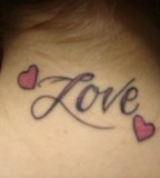 Nice Heart Love Tattoo Couple On Hand