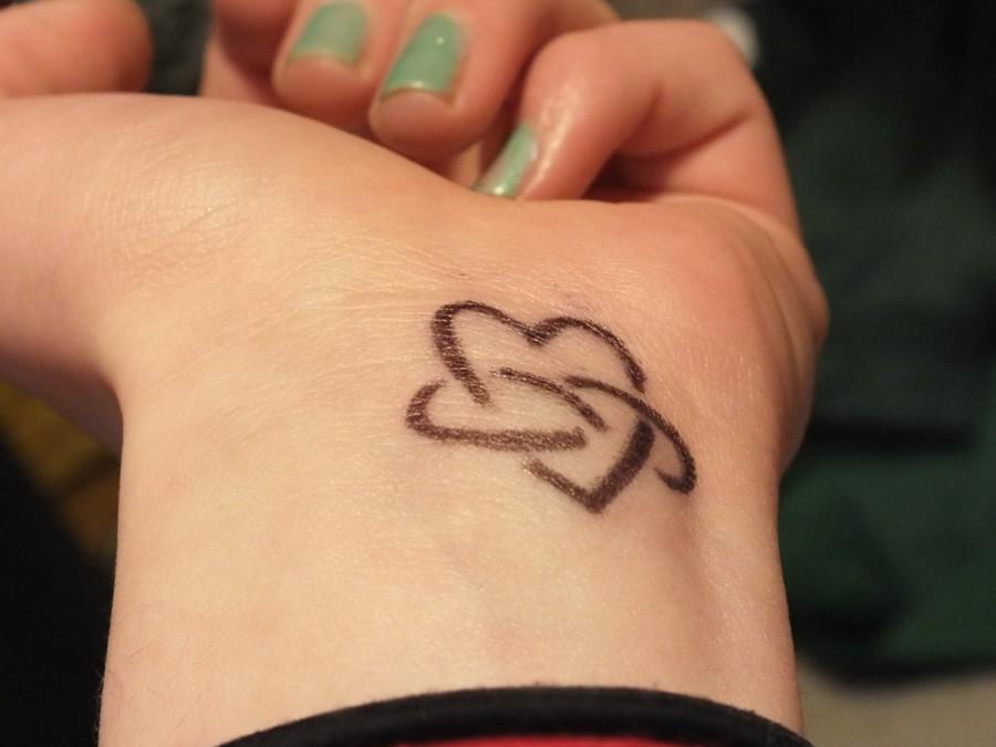 Fascinating Infinity Love Tattoo