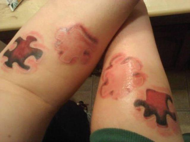 Advised Couple Tattoo