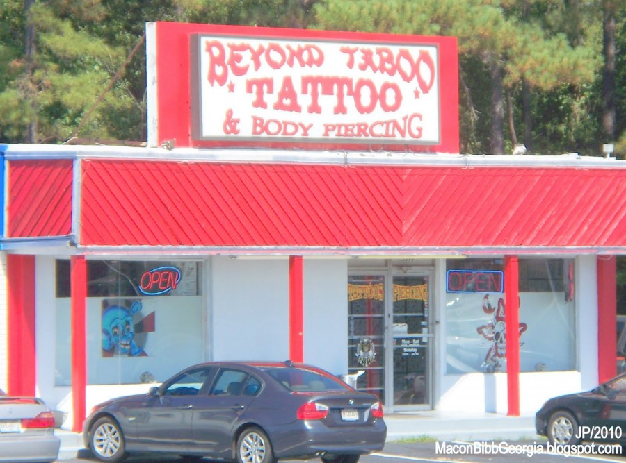 Macon Ga Attorney College Beyond Taboo Tattoo Shop