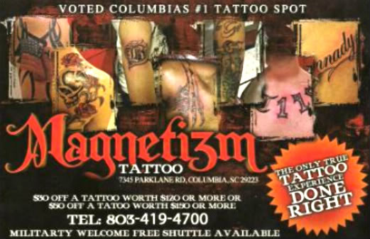 Magnetizm Tattoo Amp Body Piercing Entertainment Tattoo Shops