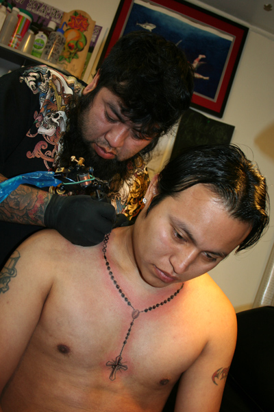 Tattoo Shop Mixes Styles To Survive
