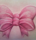 Pink Ribbon Tattoo Design Ideas for Girls