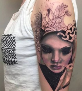portrait tattoos for women