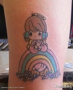 Precious Moments Angel Tattoos Tattoo Artists