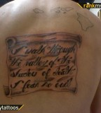 Bible Verse Religious Tattoo