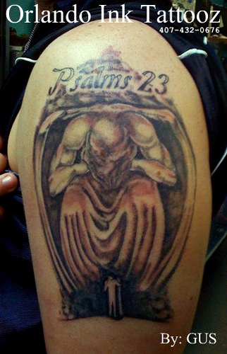 Depressed Tattoo Symbol