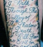 Religious Tattoos Body Art