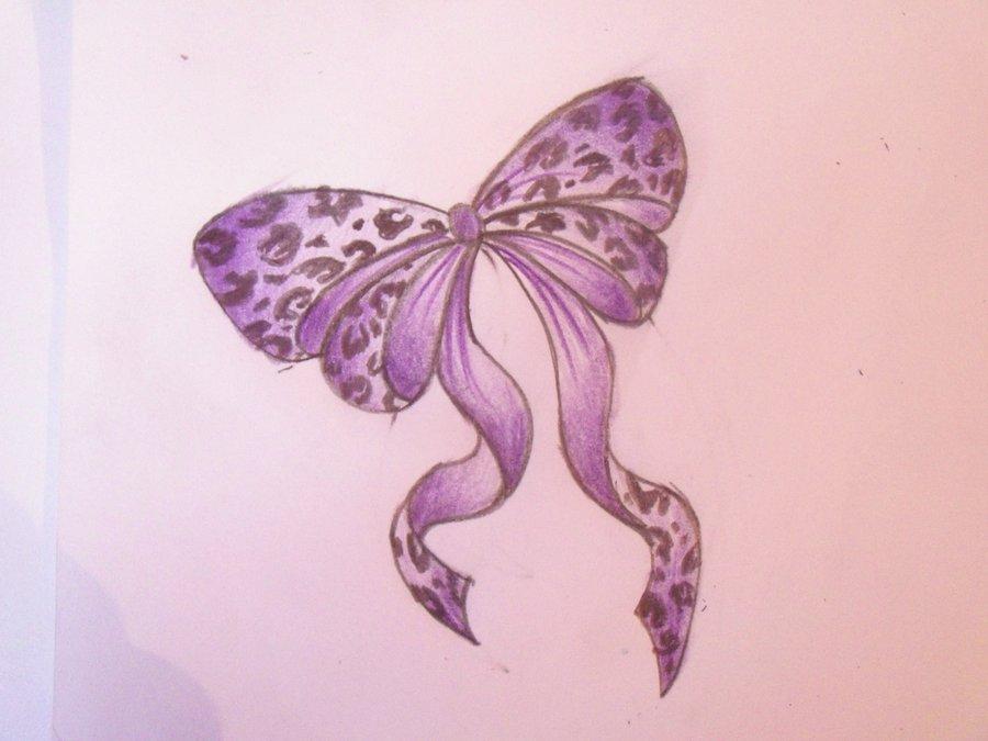 Soft Purple Leopard Print Tattoo Photo