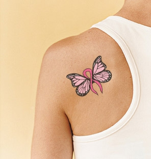 Tattoo Design Monarch Ribbon Butterfly