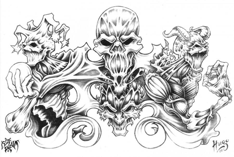 Best Quarter Sleeve Tattoo Sketch