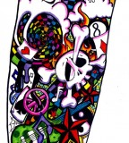 Picture Of Half Sleeve Tattoo Design Art