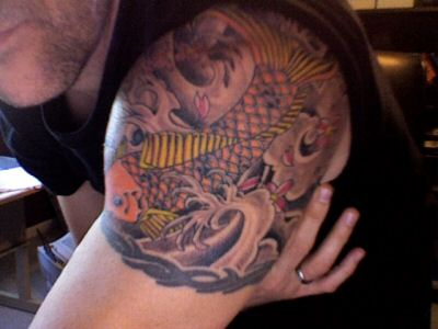 Cool Chinese Quarter Sleeve Tattoo Ideas