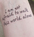 Beautiful Brave Quote Tattoo on Wrist