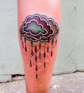 rainy-cloud-autumn-tattoo