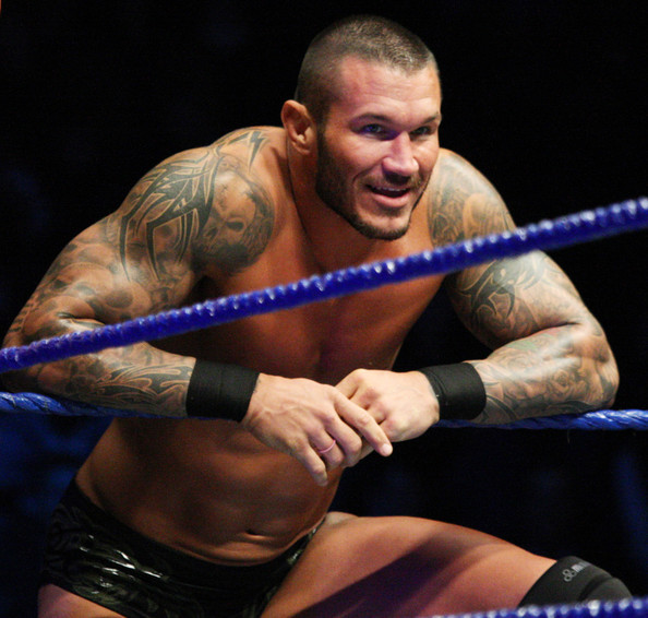 Cool Randy orton Sleeves Tattoo Design Ideas