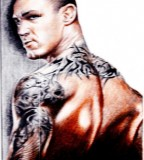 Randy Orton New Sleeves Tattoo Designs
