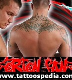 Randy Orton Back Tattoo Design Idea