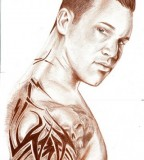 Randy Orton Portrait for Sleeve Tattoo