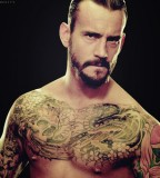 Wwe  Cm Punk Sleeve Tattoo Design