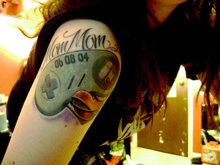 Rip Tattoo Sentimental Super Nintendo Tattoo For Mom