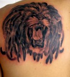 Lion Crown Tattoo Pictures Gallery