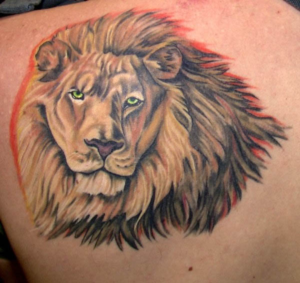 King of the Jungle Lion Tattoos Pictures