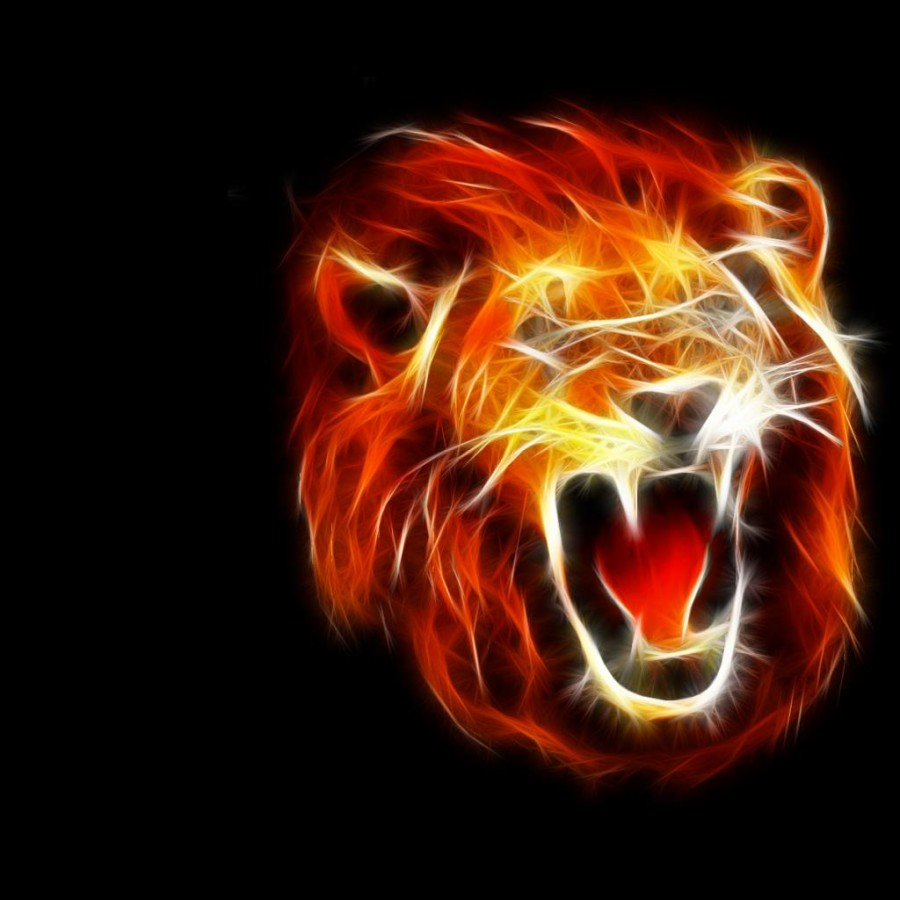 Cool Roaring Lion Tattoo Meaning
