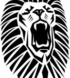 Roaring Lion Vector Custom Tattoo Design