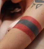 Upper Arm Ink Tattoo Design (NSFW)