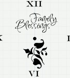 Family Blessing Temporary Tattoo Design