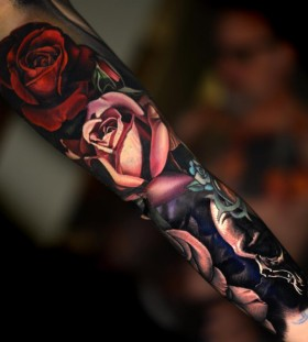 rose-sleeve-tattoo-by-nikko-hurtado