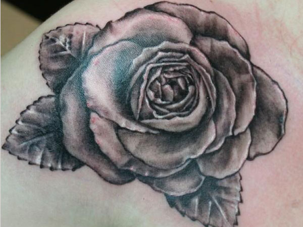 6501be275 Exotic Black Rose Tattoo Designs for Women - | TattooMagz › Tattoo ...