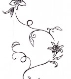 Flower Tattoos Lily And Vine Tatt Tattoo