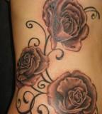 Roses Amp Vines Tattoo At Black Line Studio