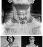 Me Studio Russian Criminal Tattoo By Photographer Sergei Vasiliev