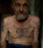 Old Man Russian Criminal Tatoos