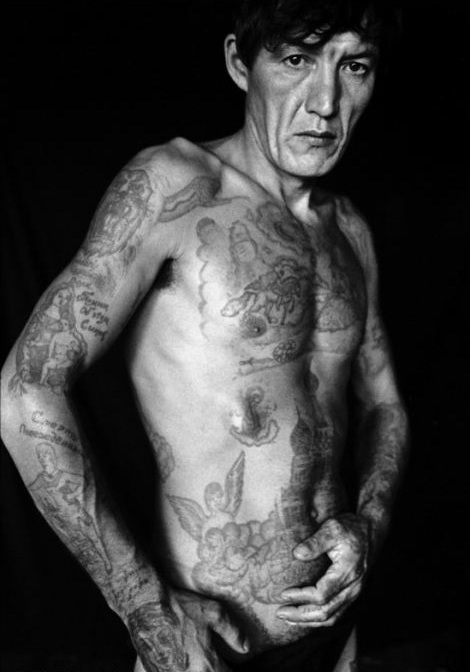 Old Man Russian Mafia Tattoos