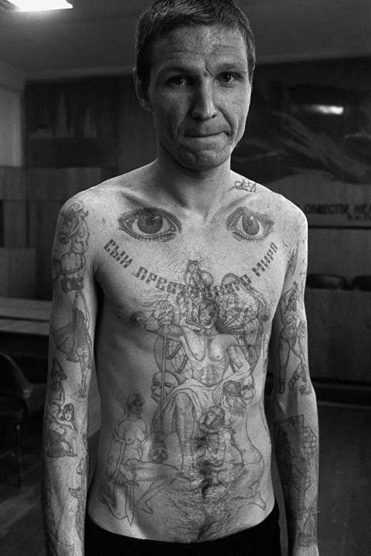 Church Crucifix Symbol Russian Criminal Tattoos