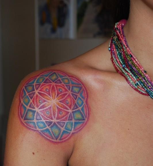 Sacred Geometry Mandala Tattoos