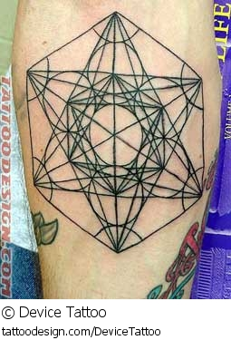 Wow A Beautiful Sacred Geometry Tattoo Picture From Device Tattoo