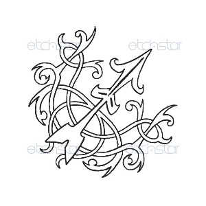 Sgaittarius Zodiac Sign Sketch Tattoo Ideas