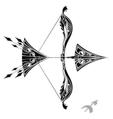 Zodiac Signs Sagittarius Tattoo Sketch Ideas By Galina