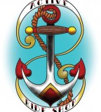 Unique Sailor Anchor Tattoo Design