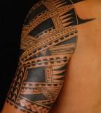 Amazing Shane Tattoo Style on upper arm